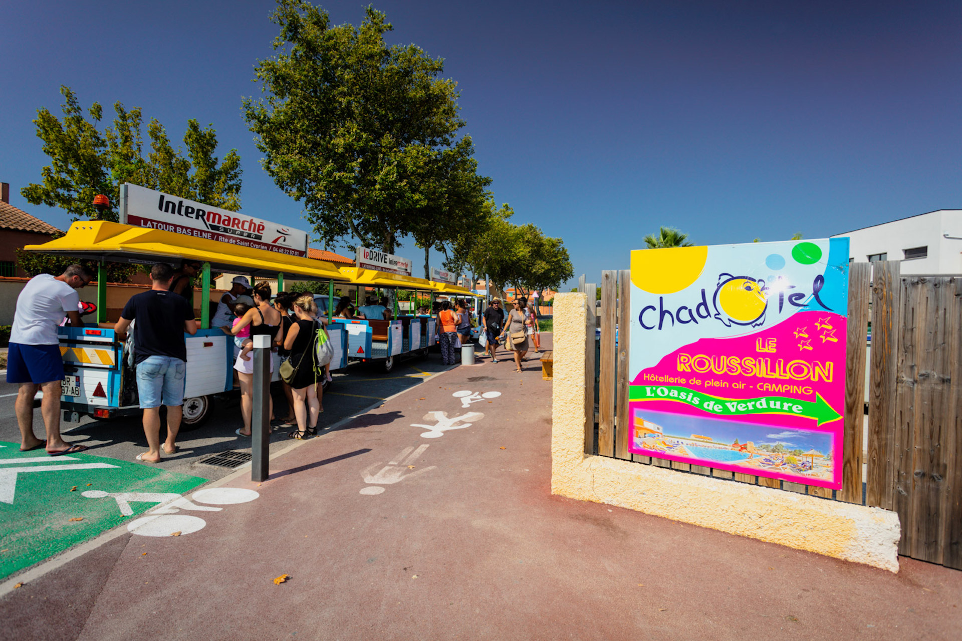 © camping chadotel le roussillon - saint cyprien