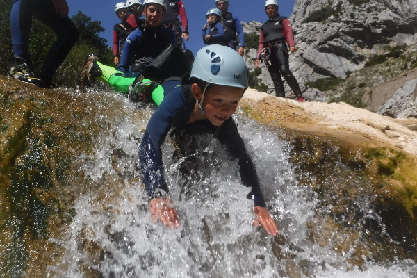 CANYONING COTE SUD © Canyoning côté sud