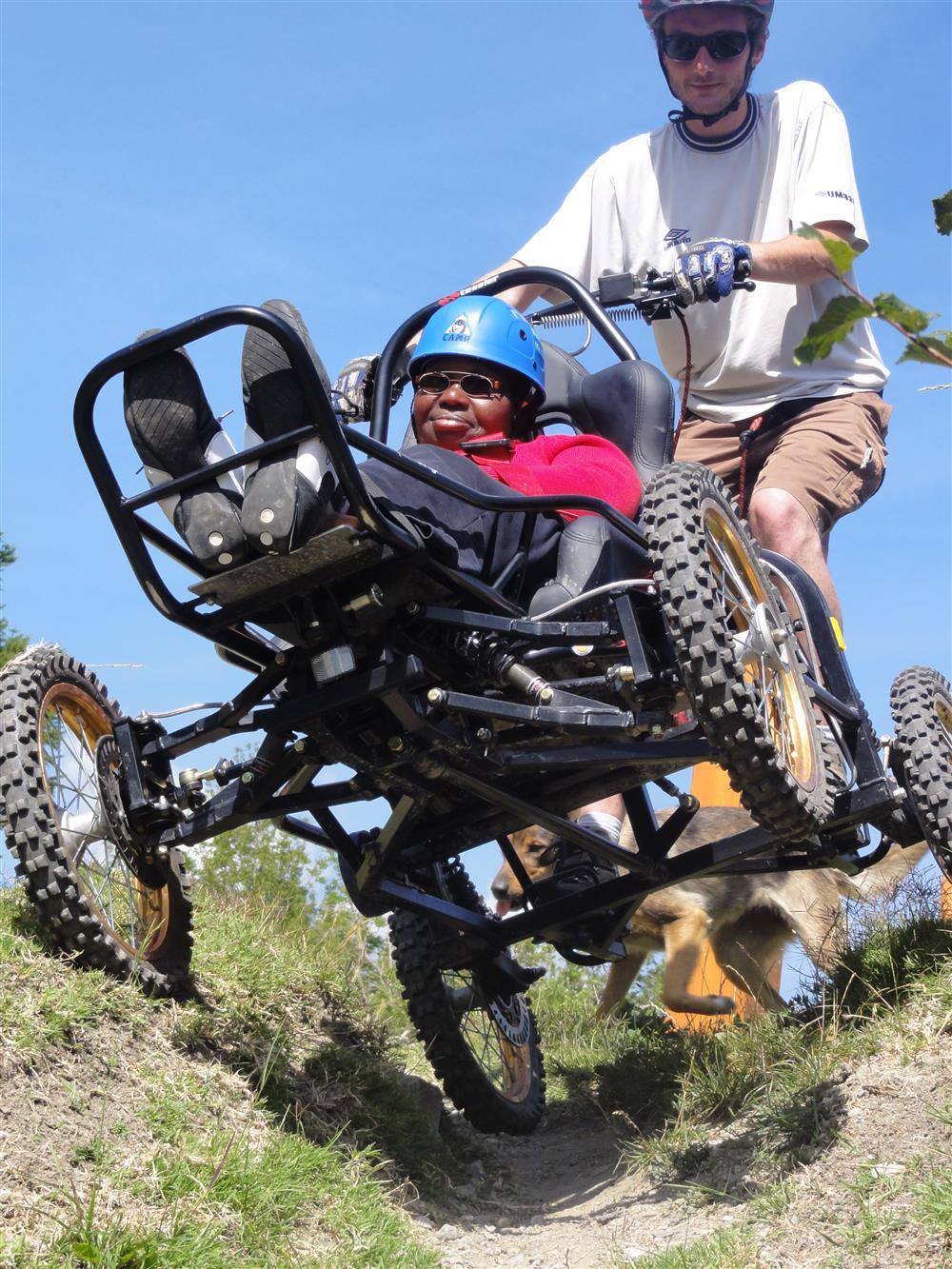 Wandelen voor mensen met beperkte mobiliteit- CIMGO © OT Saint-Sorlin d'Arves