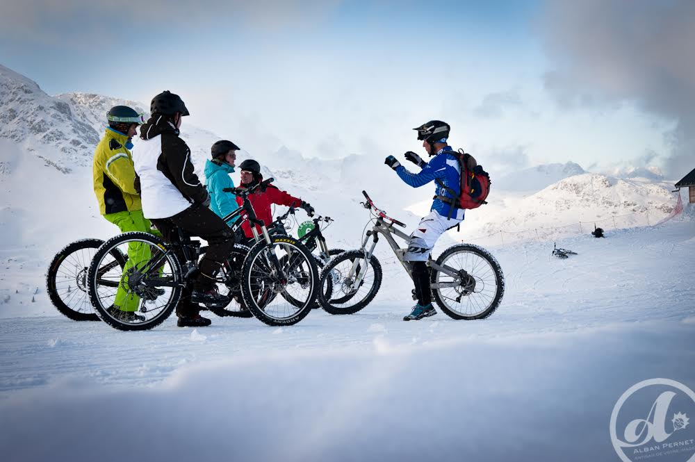Snow bike and FAT BIKE © OT Saint-Sorlin d'Arves