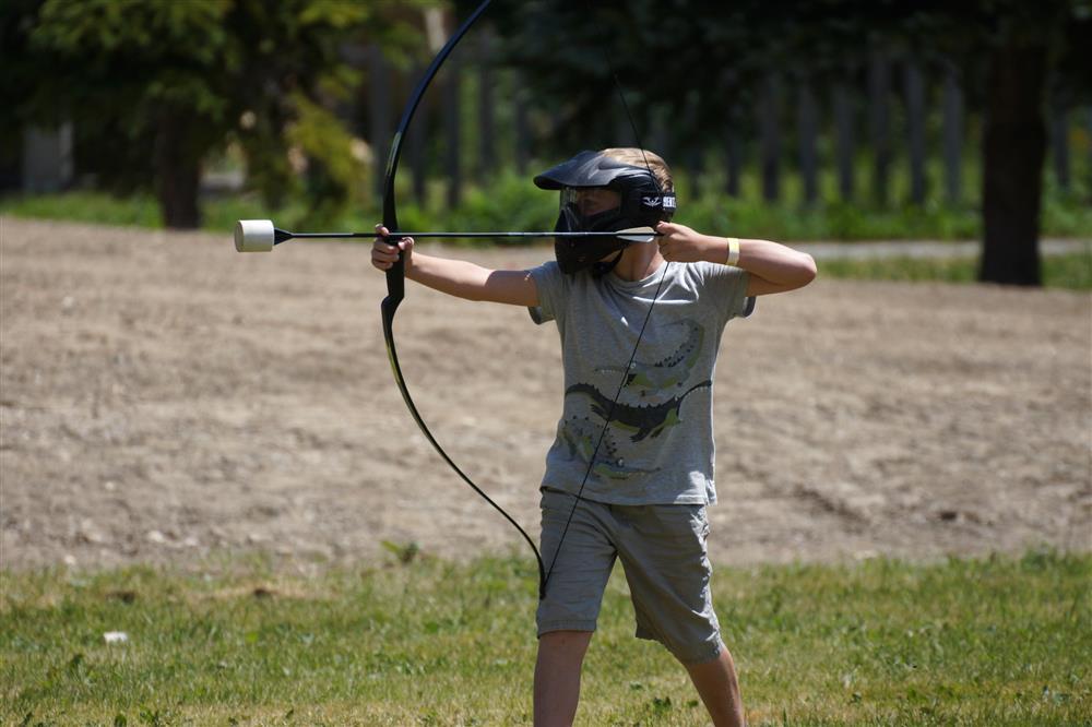 Tag Archery à La Toussuire © OT