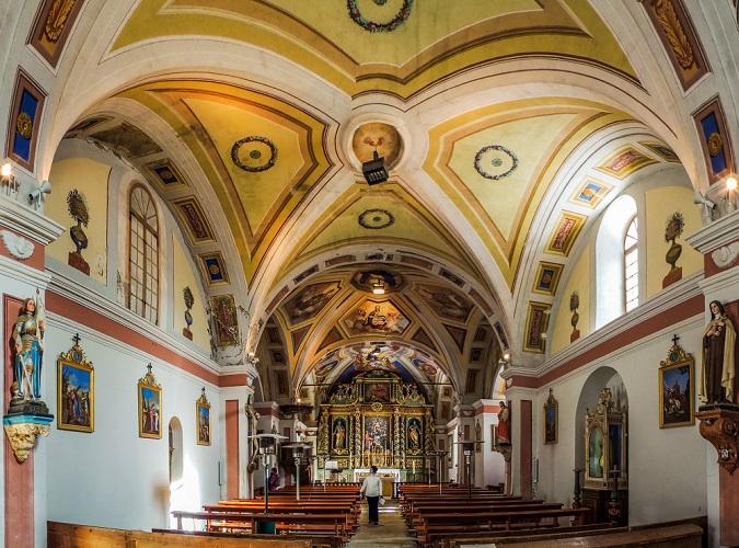 Eglise Saint Saturnin © © Office de Tourisme de Saint-Sorlin-d'Arves