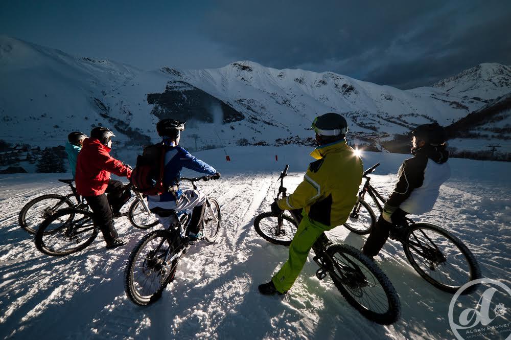 Arvan VTT - VTT sur neige © OT Saint-Sorlin d'Arves