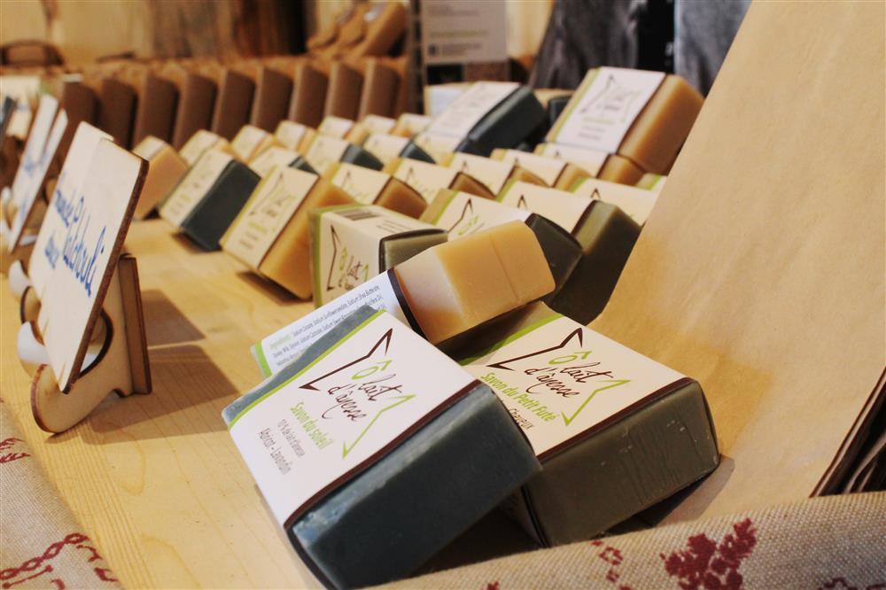 Producten van ezelinnenmelk © © Office de Tourisme Saint Jean d'Arves - Les Sybelles
