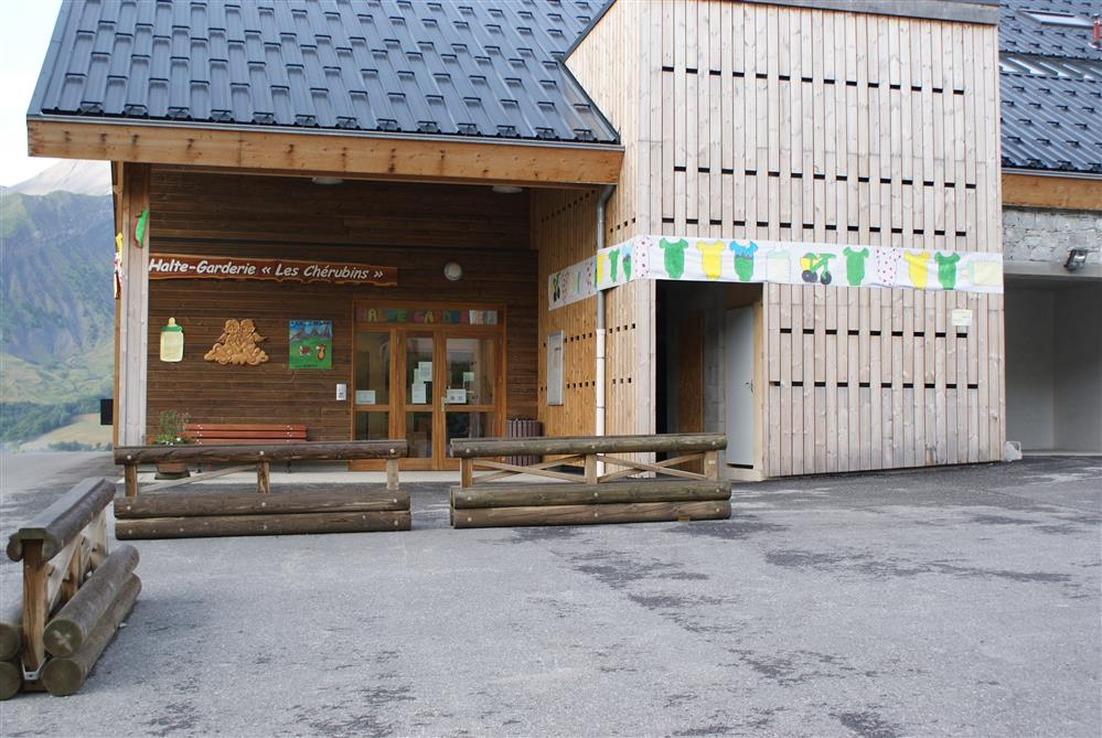 Kinderopvang - Creche Les Chérubins © OT Saint-Sorlin d'Arves