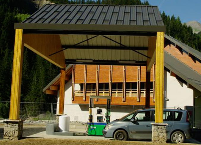 Station service des Condamines (Saint-Sorlin-d'Arves - Les Sybelles) © © Office de Tourisme de Saint-Sorlin-d'Arves