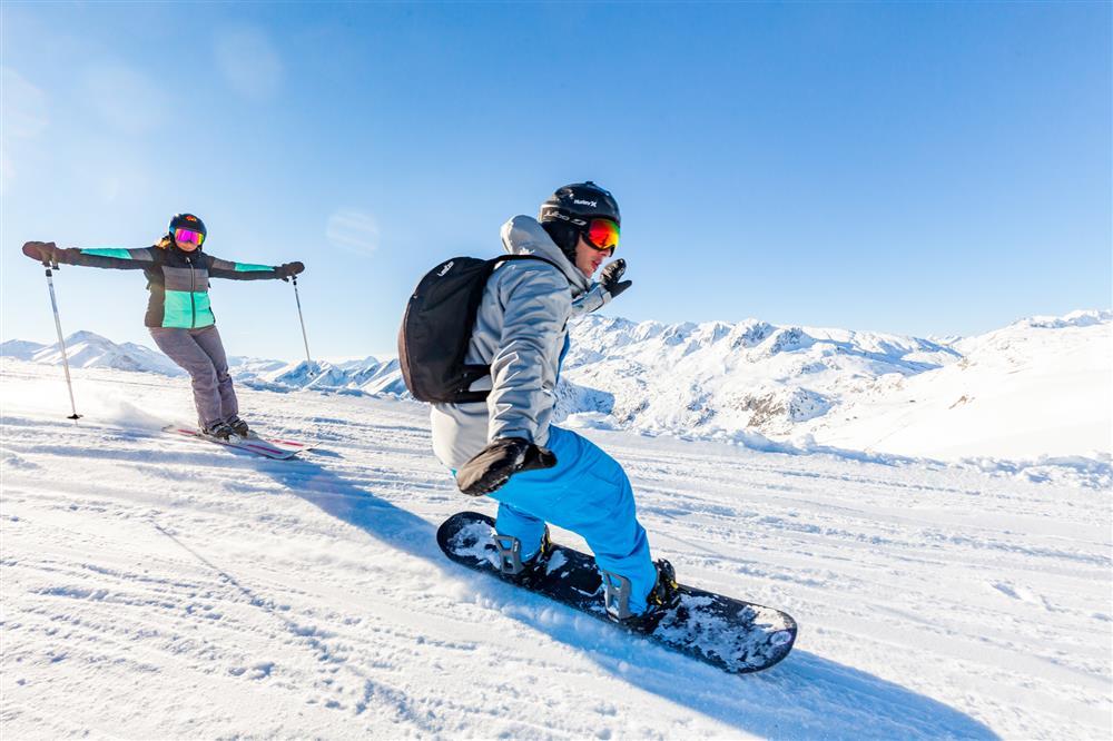 Ski et snowboard aux Sybelles © ©Tiphaine Buccino - Sybelles.ski