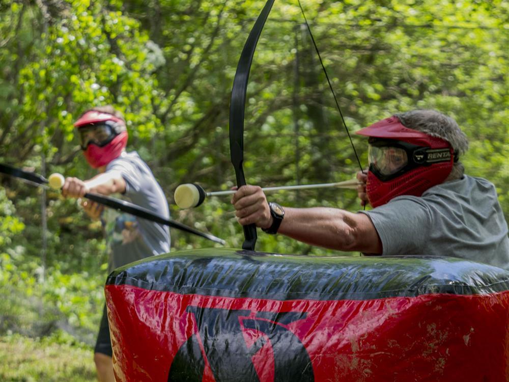 Archery game © Repaire de la Marmotte