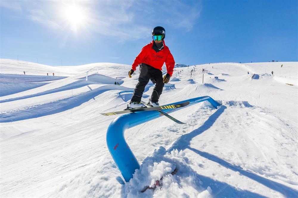 Snowpark Les Sybelles © ©Tiphaine Buccino - Sybelles.ski