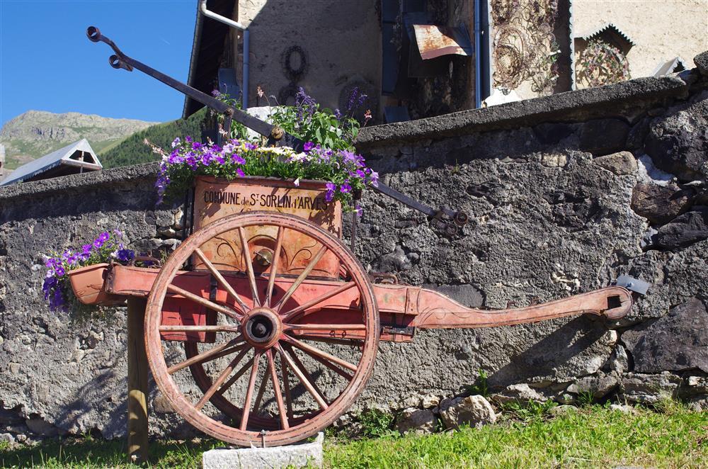 Wandelen in de gehuchten © © Office de Tourisme de Saint Sorlin d'Arves