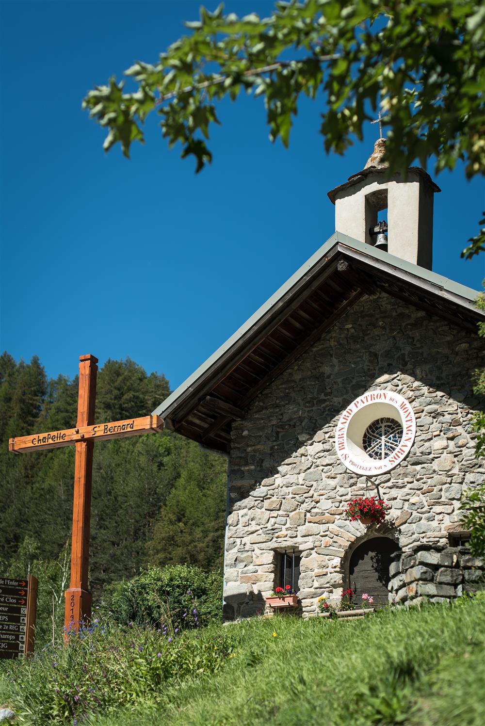 Chapelle de la Borgé © A.Pernet / Valloire Tourisme