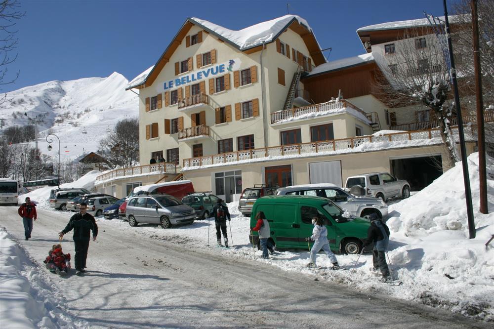 Chalet Le Bellevue -hiver © Chalet Le Bellevue