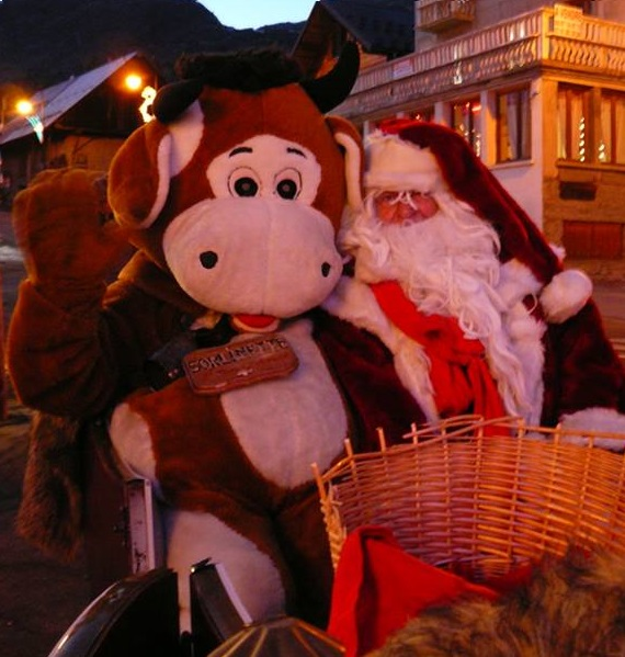 Santa Claus is coming © ©Office de Tourisme de Saint Sorlin d'Arves