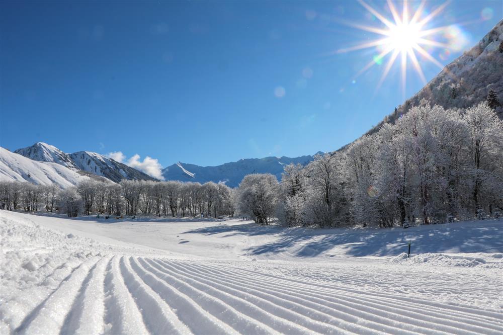 Cross country skiing © © OT Saint Sorlin d'Arves - V Bellot-Mauroz