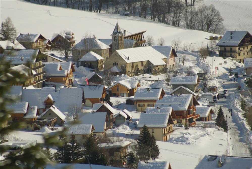 Village de Saint Sorlin d'Arves © © Office de tourisme Saint Sorlin d'Arves