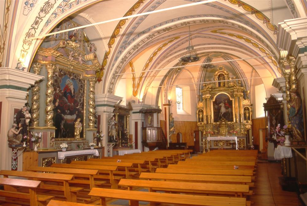 Eglise St Maurice à Orelle © D. Vidalie - Fondation Facim