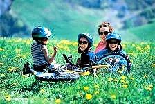 Mountain bike for children (6-11 yo) © OT Saint-Sorlin d'Arves
