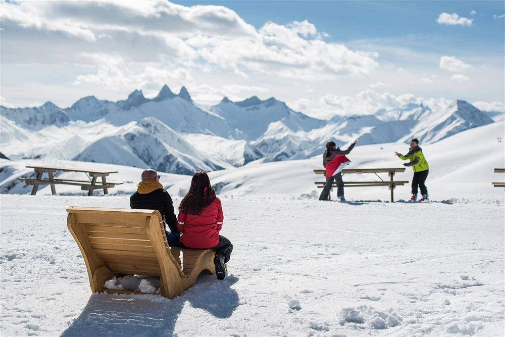 fauteuil relaxation @Snowpy Mountain @LaToussuire © Alban Pernet