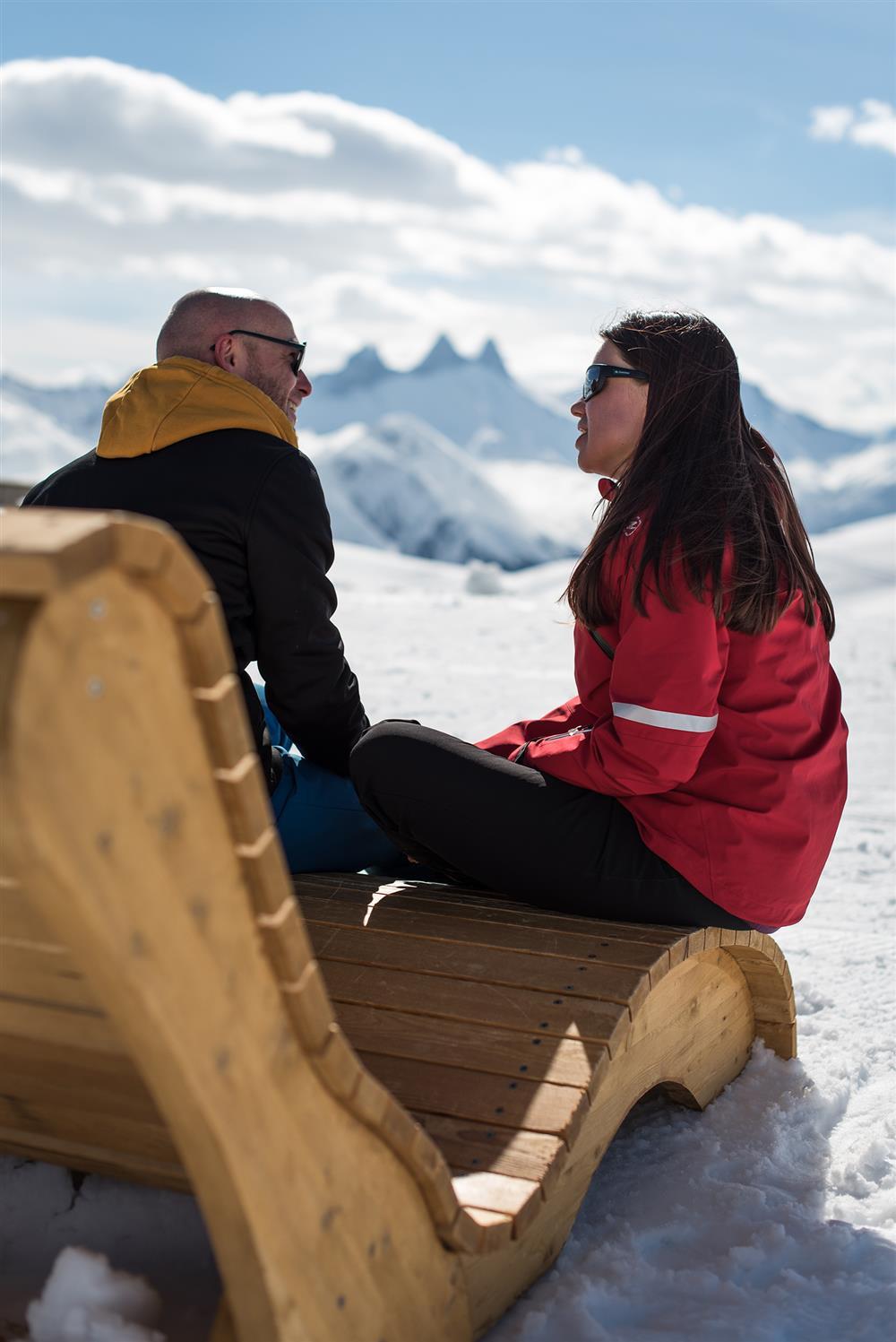 Fauteuil relaxation @SnowpyMountain @laToussuire © Alban Pernet