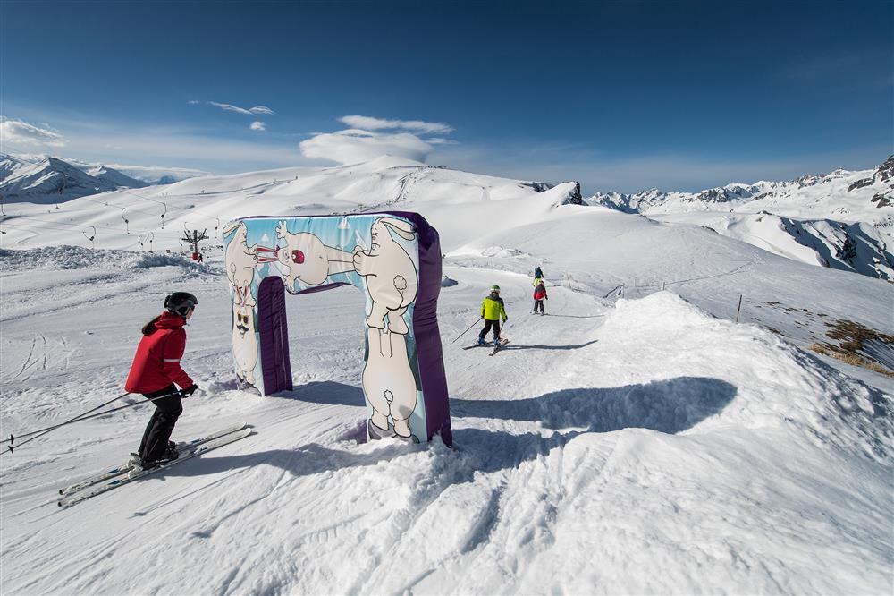 Piste ludique @SnowpyMountain@LaToussuire © Alban Pernet
