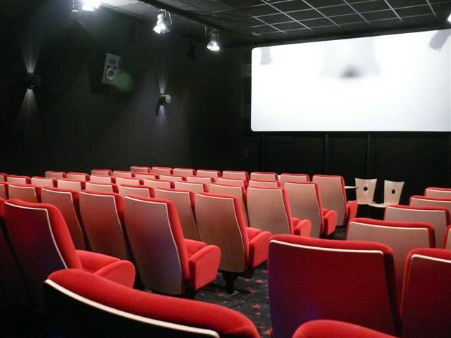 Petite salle cinéma