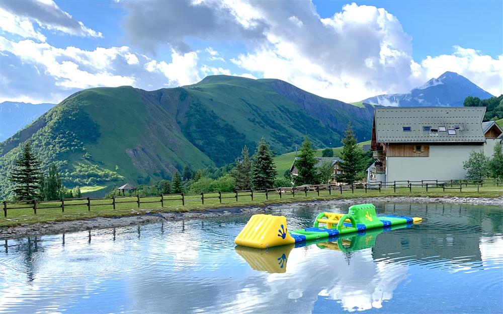 Bathing lake © mairie st sorlin