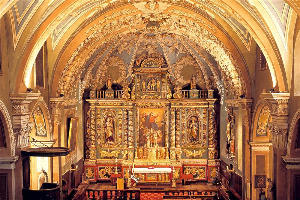 Eglise Notre Dame de l'Assomption © Bernard Grange/ Ot Valloire