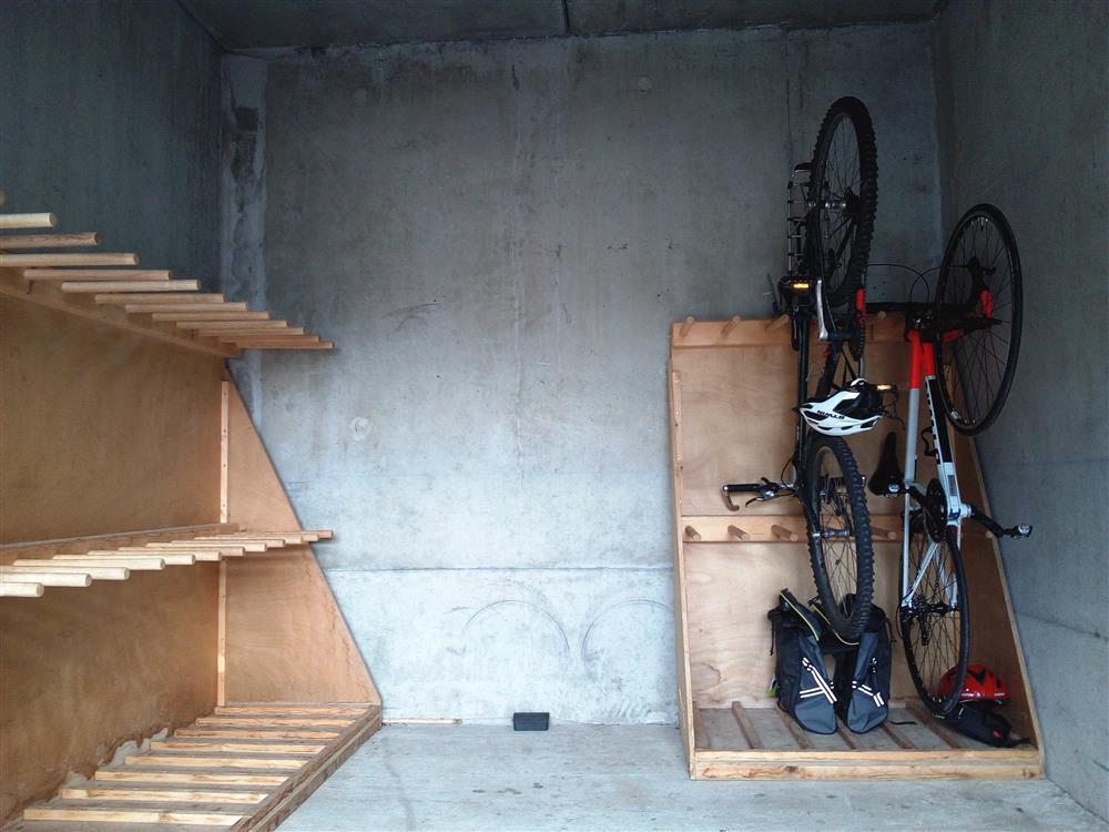 Garage à vélos © ©LeShantone