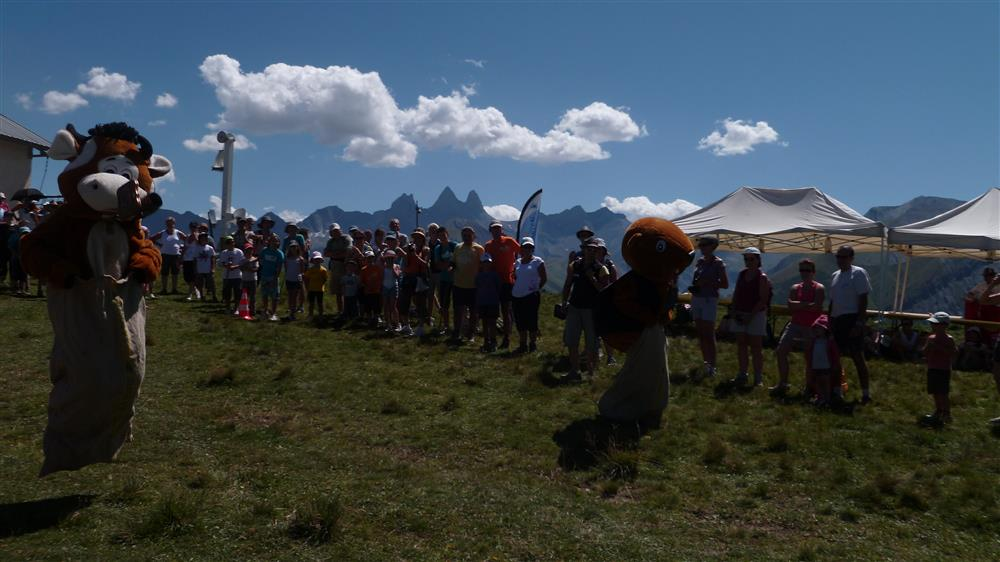 Feest in de alpenweide © OT Saint-Sorlin d'Arves