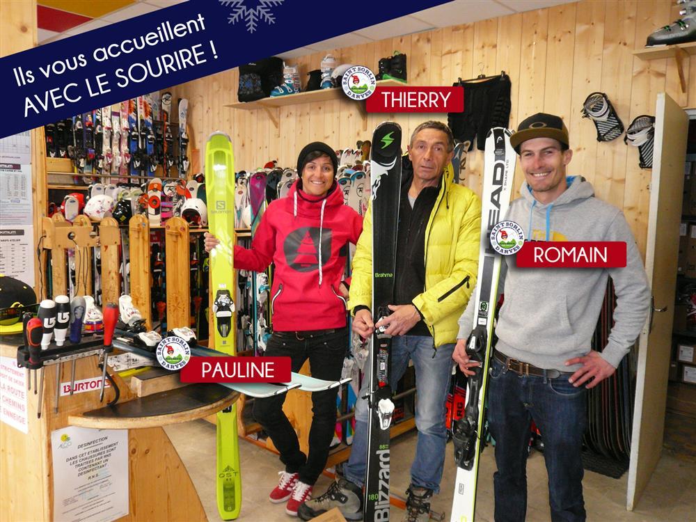 Skimium - Le Slalom © OT Saint-Sorlin d'Arves