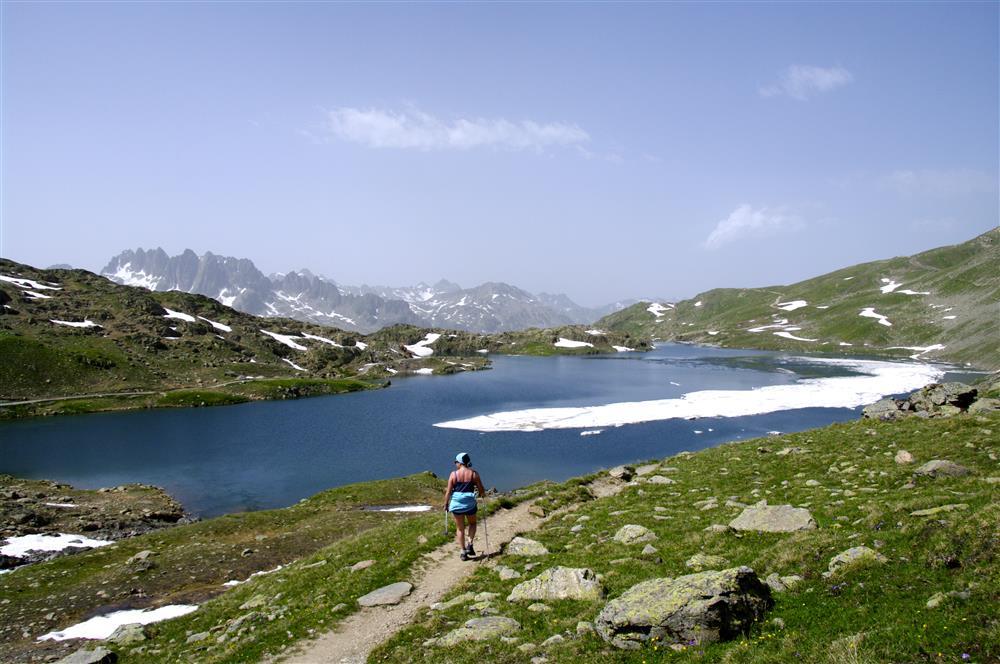 Randonnées vers les 3 lacs © E Axelrad