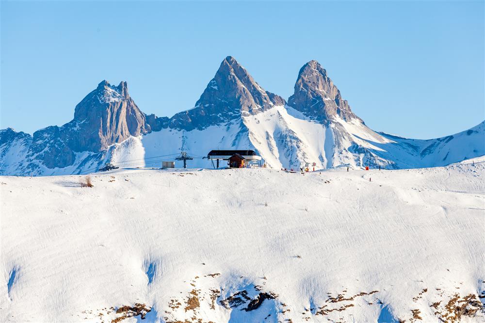 Sommet Plan du Moulin Express © ©Tiphaine Buccino - Sybelles.ski