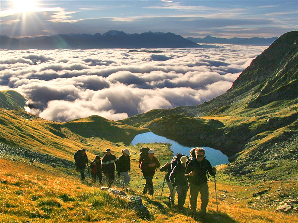 2 days hike with overnight in tent © ©BMA