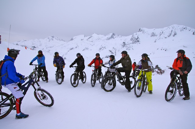 Snow bike and FAT BIKE © Office de Tourisme de Saint Sorlin d'Arves