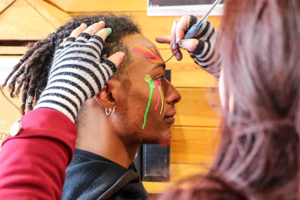 Maquillage Carnaval © © OT Saint Sorlin d'Arves - V Bellot-Mauroz