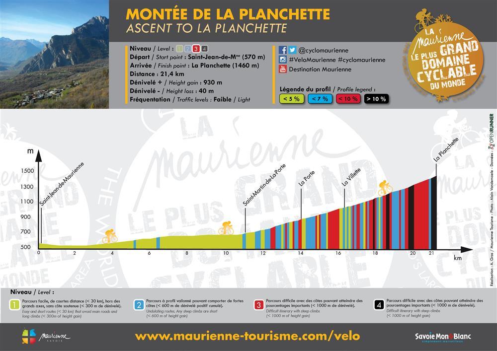 Montée de La Planchette © Alexandre Gros / Maurienne Tourisme