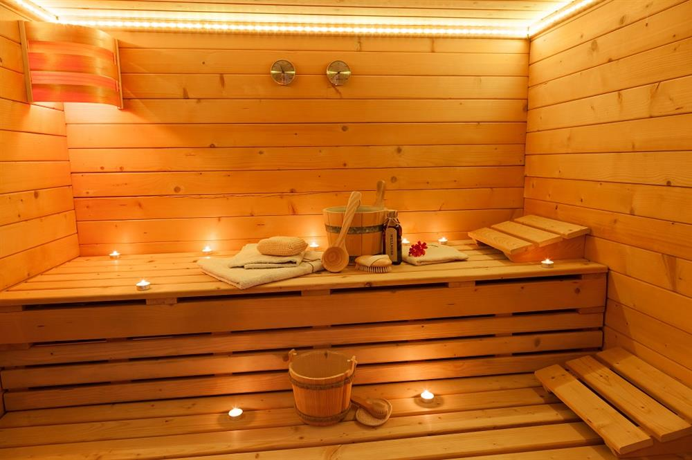 Sauna © Domaine du Trappeur