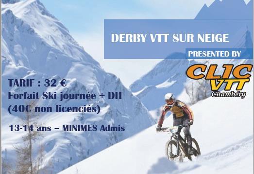 Derby VTT © Clic VTT