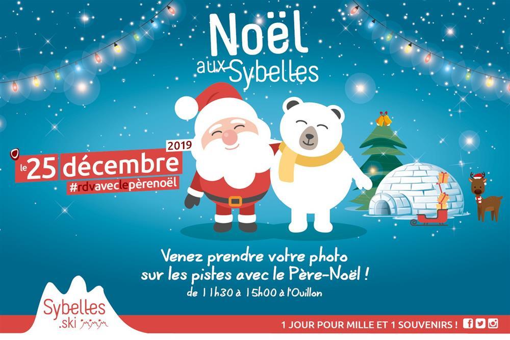 Noël aux Sybelles © OT Saint-Sorlin d'Arves