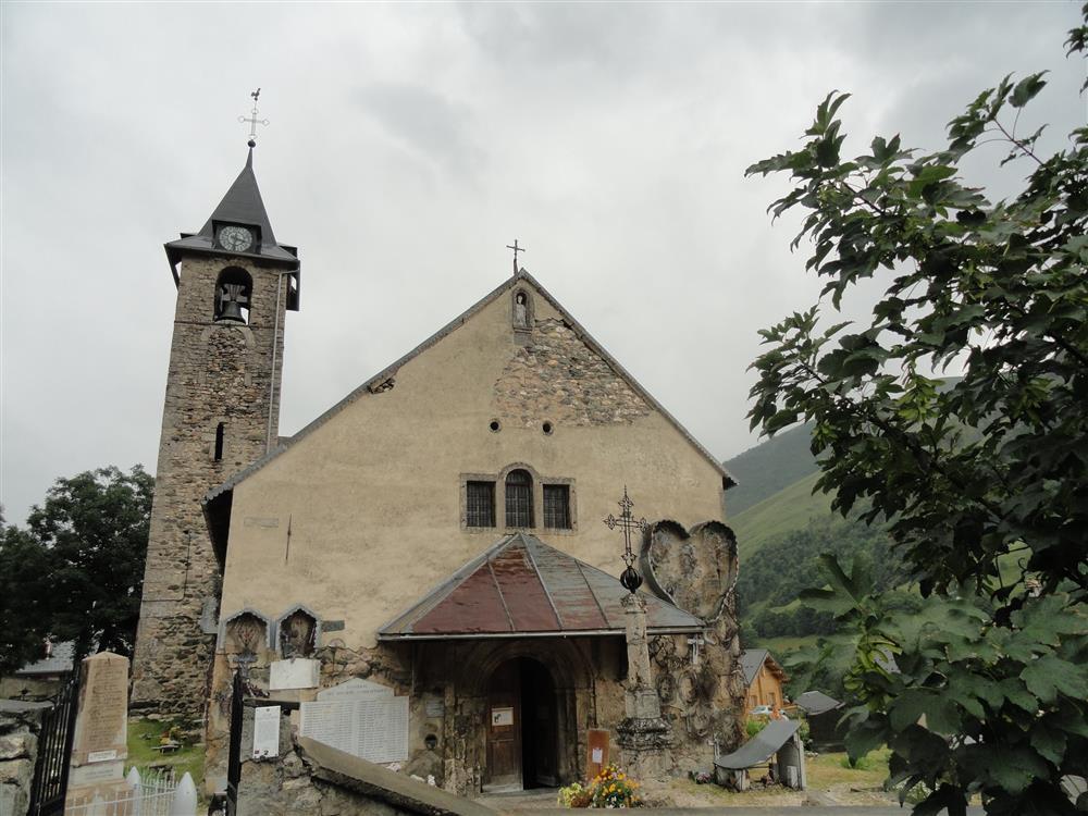 Eglise Saint-Saturnin : En accès libre © D. Dereani - Fondation Facim