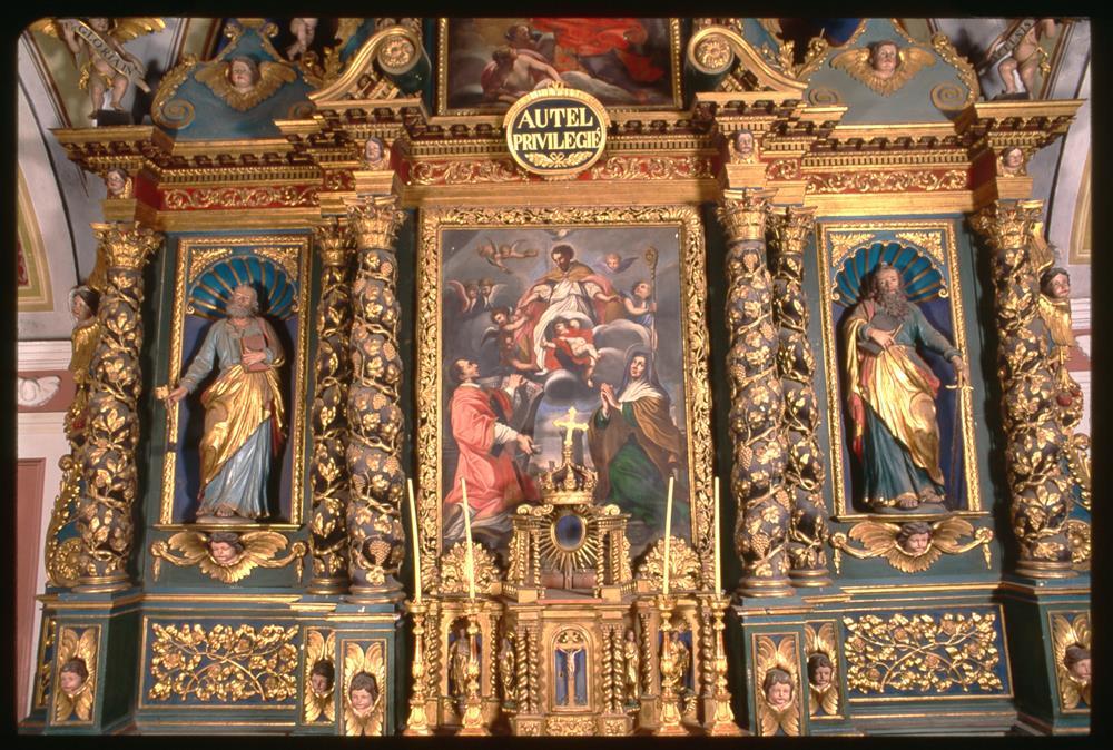 Eglise Saint-Saturnin : En accès libre © D. Vidalie - Fondation Facim