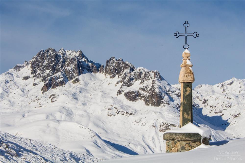 Col de la Croix de Fer en hiver © Valentine Bellot-Mauroz