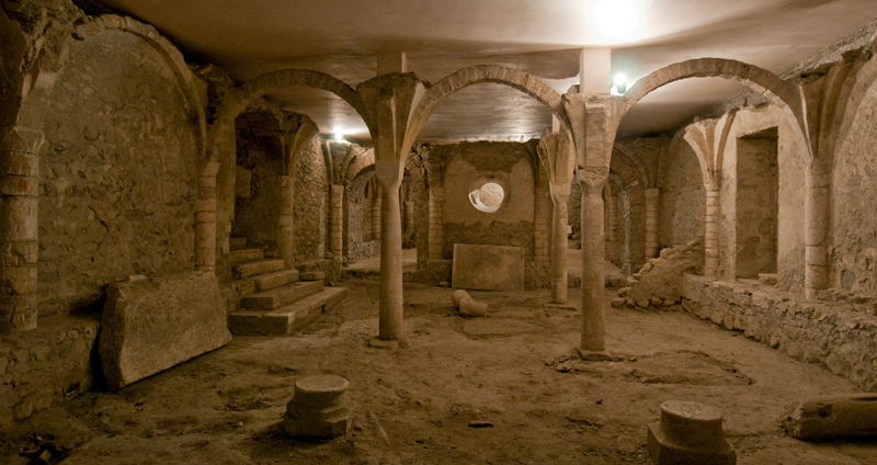 Crypte de Saint-Jean-de-Maurienne © P. Dompnier