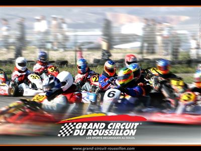 Le logo  © Grand Circuit du Roussillon