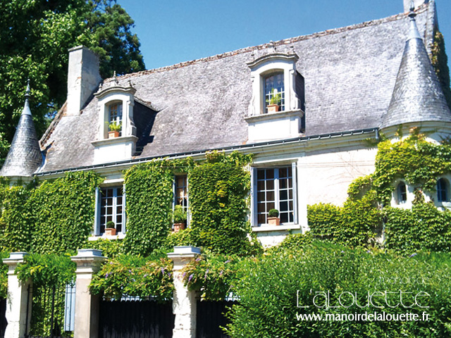 Manoir de l'Alouette - Loire valley © www.manoirdelalouette.fr