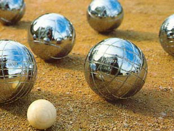 The petanque competitions