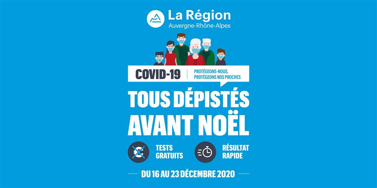 COVID-19 dépistage