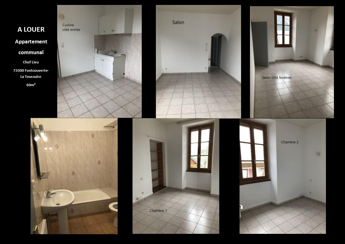 A louer appartement communal