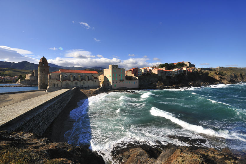 Collioure et son clocher © Rémy Michelin
