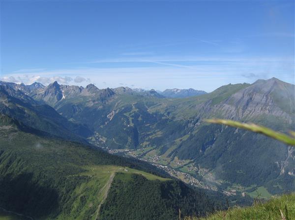Plateau du Truc depuis le col du Tricot